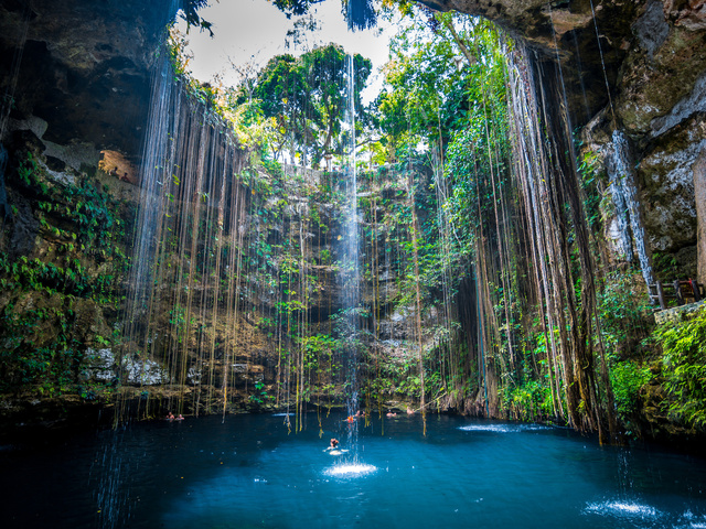 cenote in Mexico - monte mare